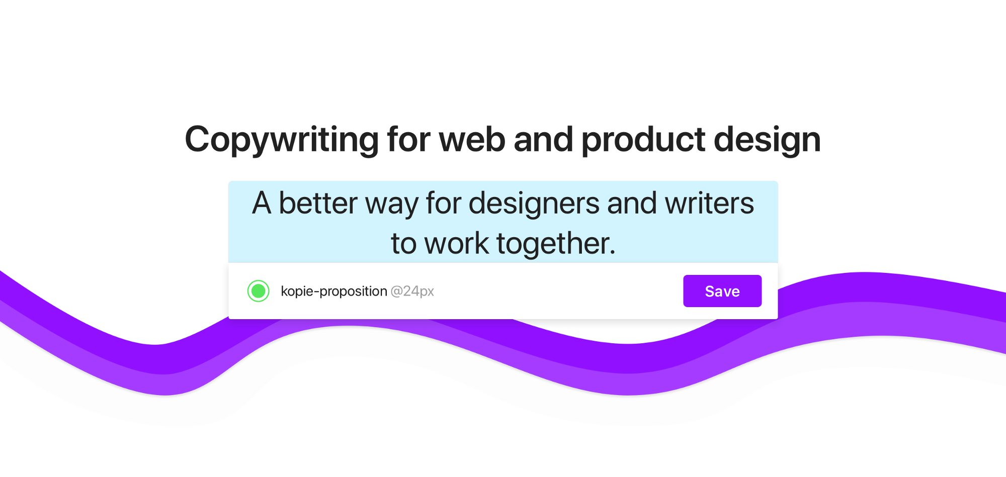 Why we built a design tool for copywriters – Design + Sketch – Medium
