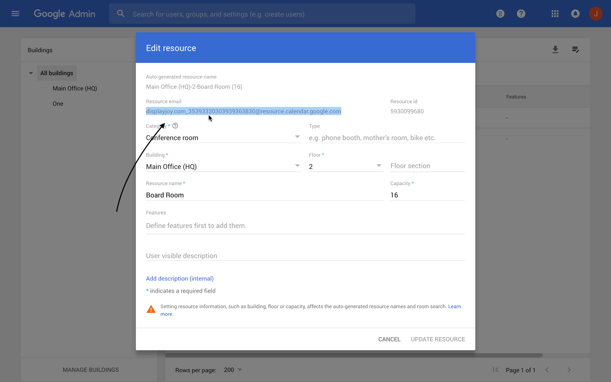 how to add email adress to g suite