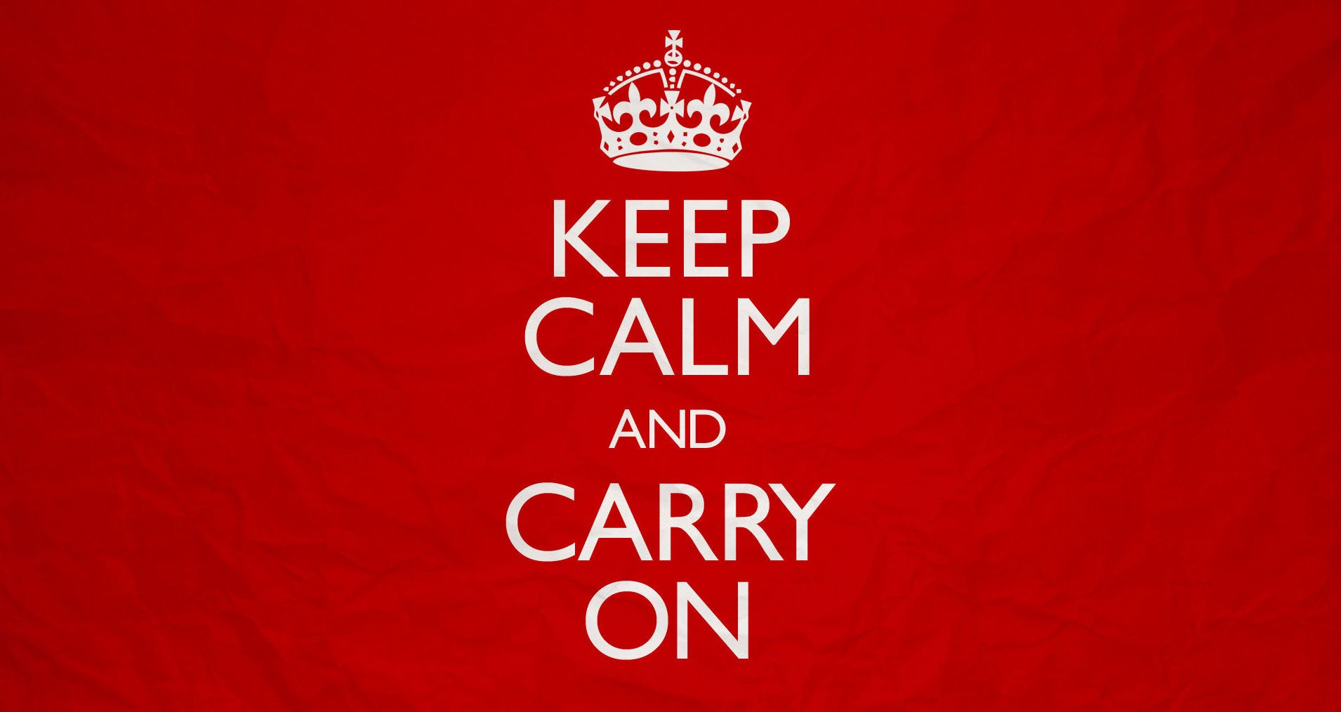 why keep calm and carry on is the worst advice ever
