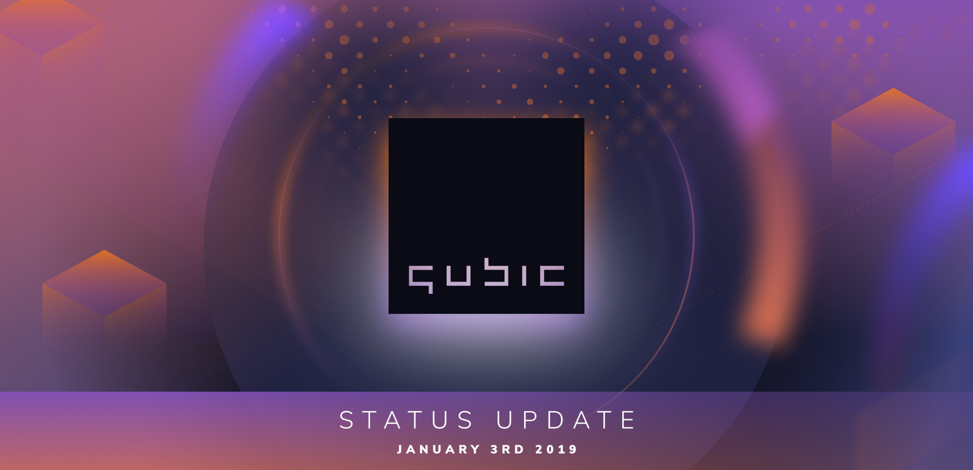 Qubic status update January 3rd, 2019