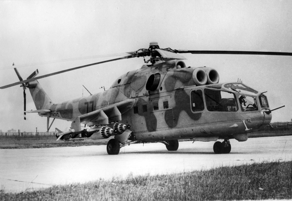 A Short History of the (Eventually) Awesome Hind Helicopter