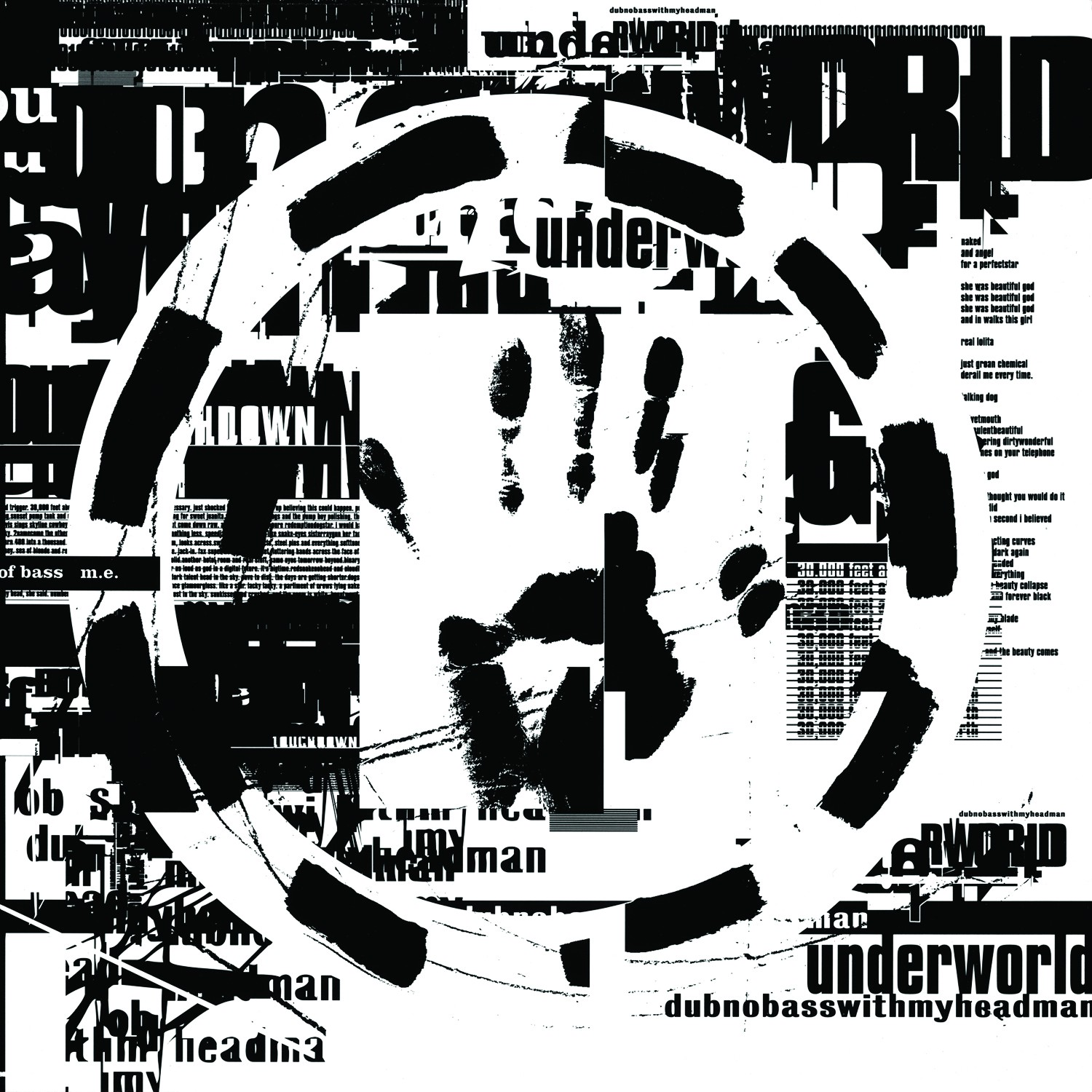 On a razors edge the story behind underworlds dirty epic the album cover to dubnobasswithmyheadman vinyl release by tomato 1993 stopboris Image collections