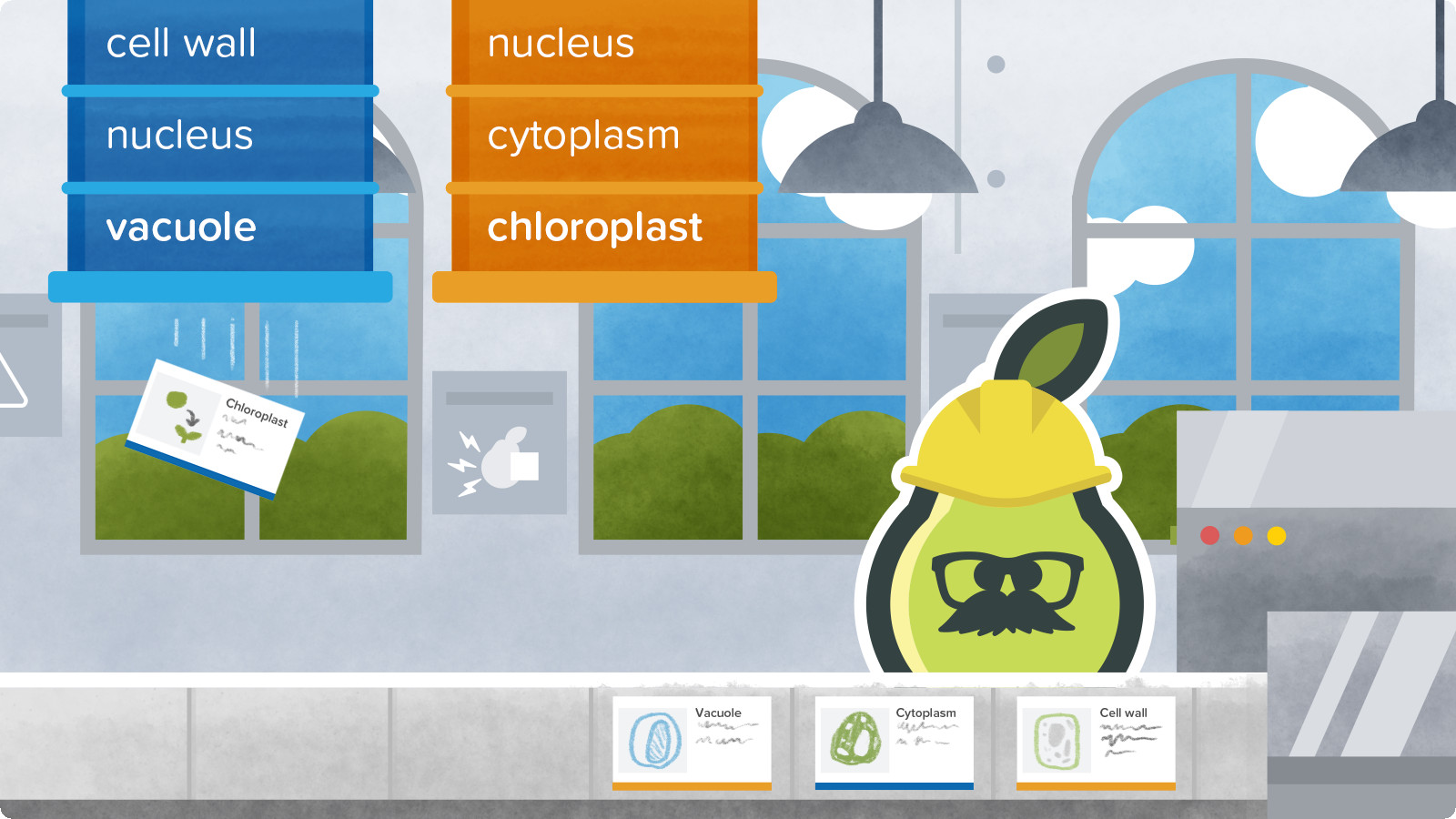 introducing pear deck vocabulary and flashcard factory