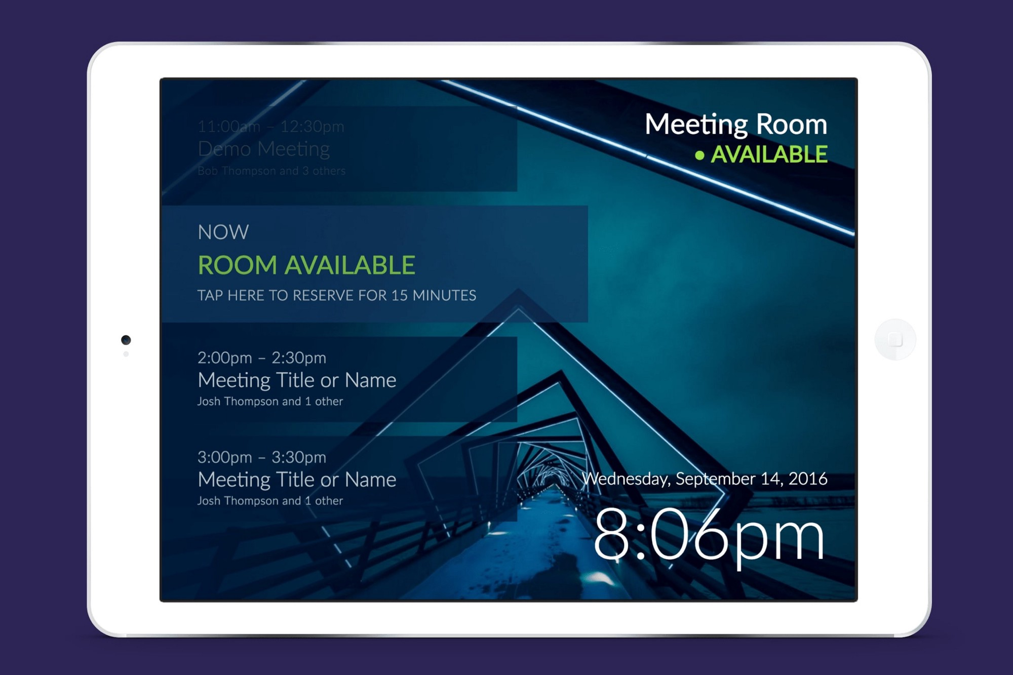How To Add A Meeting Room Display To Office 365 In 5