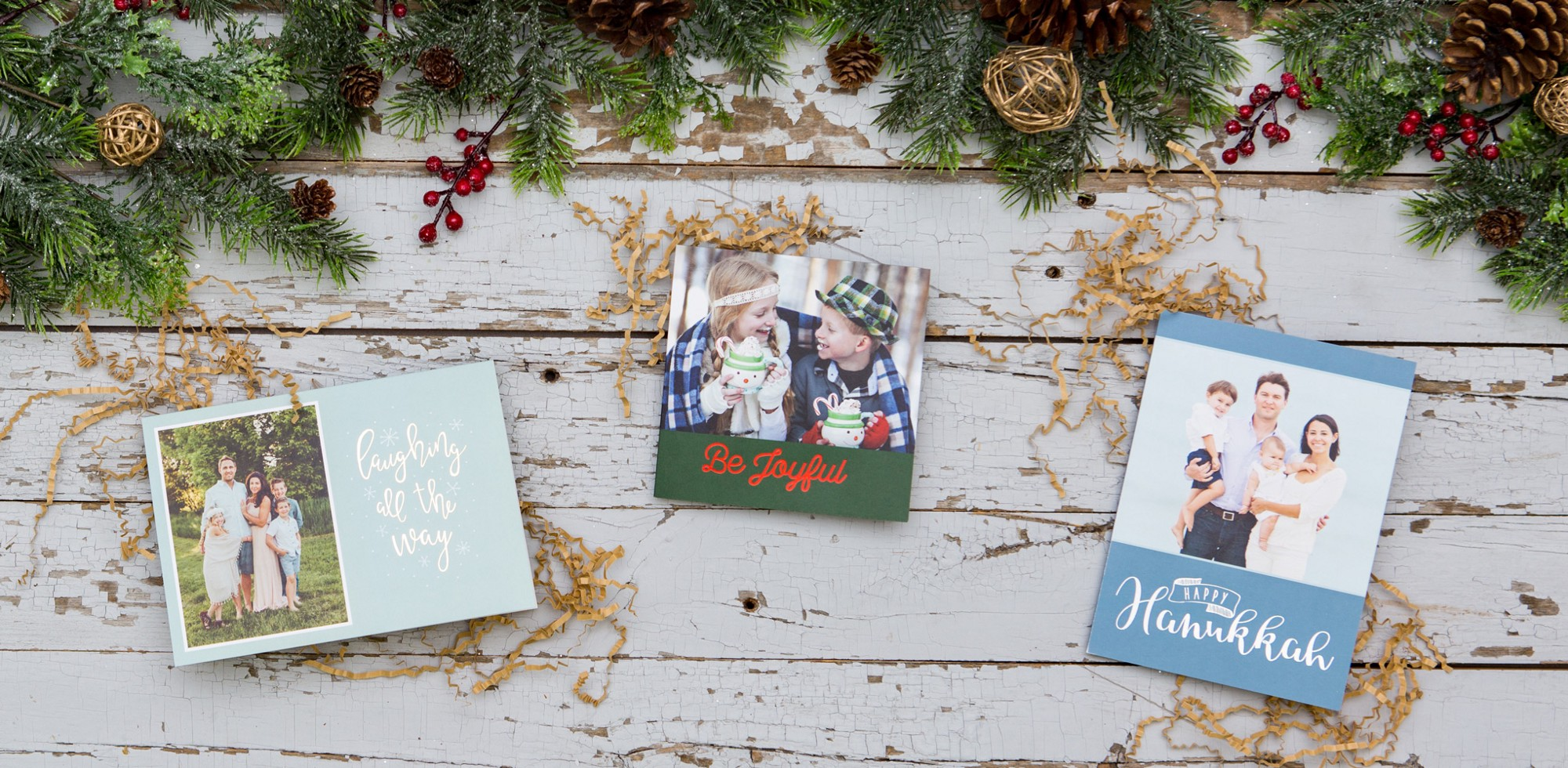 Cards of the Season: Foil Pressed Folded and Trifold Cards!