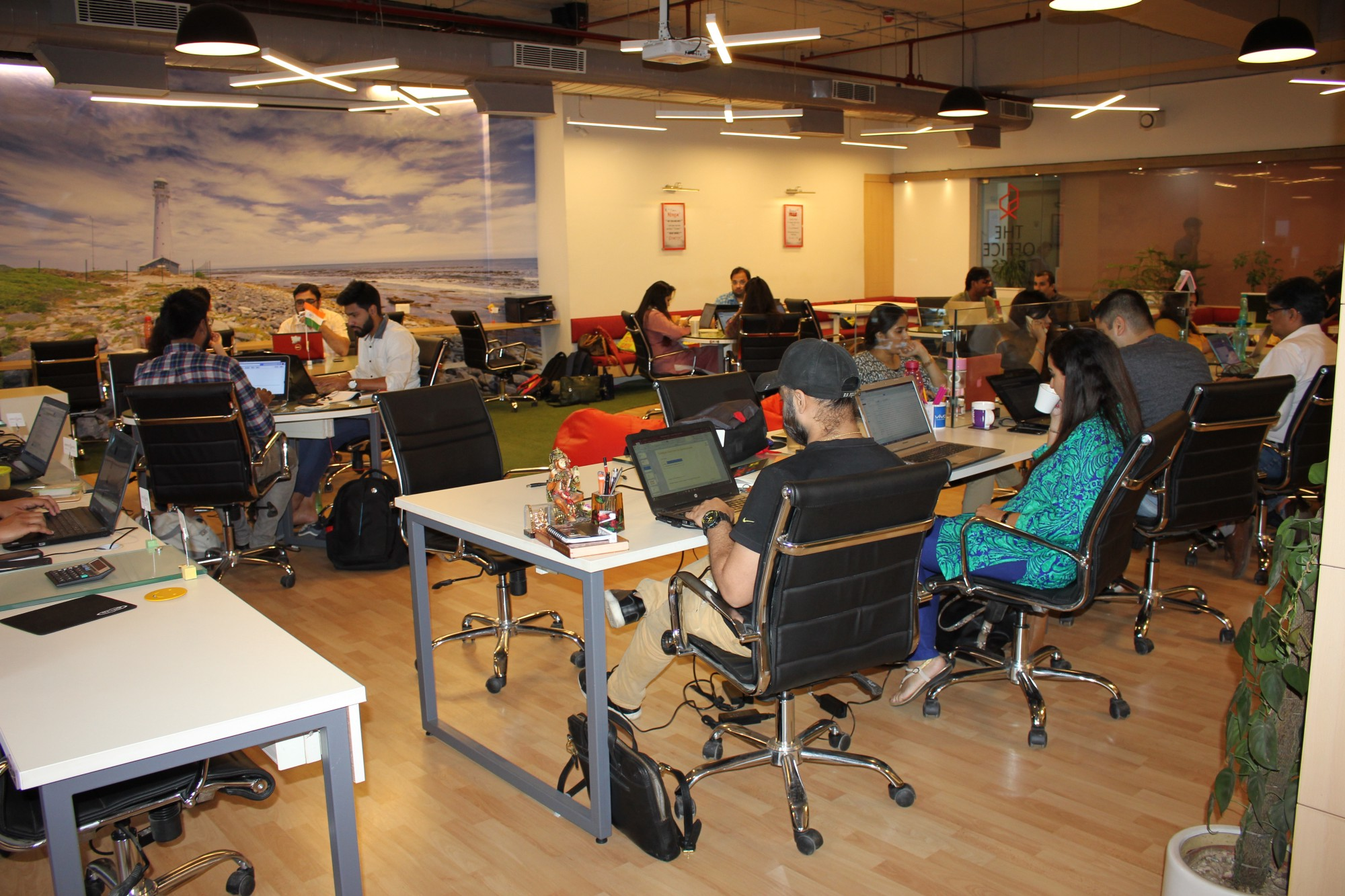 online office space. Members @ The Office Pass, Coworking Space, Gurgaon, India Online Space