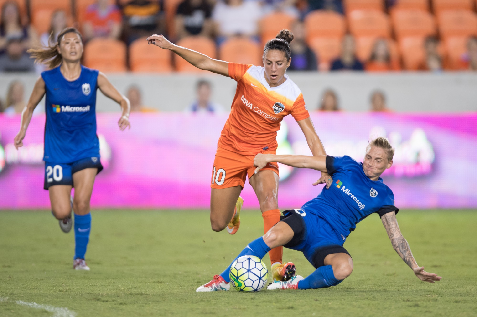 photo essay seattle reign fc houston dash