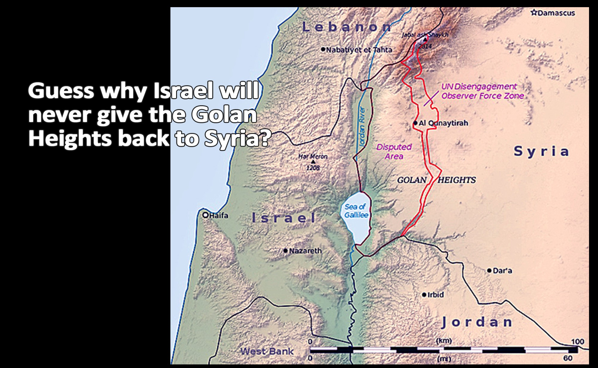 Why israel will never give back the golan heights to syria gumiabroncs Gallery