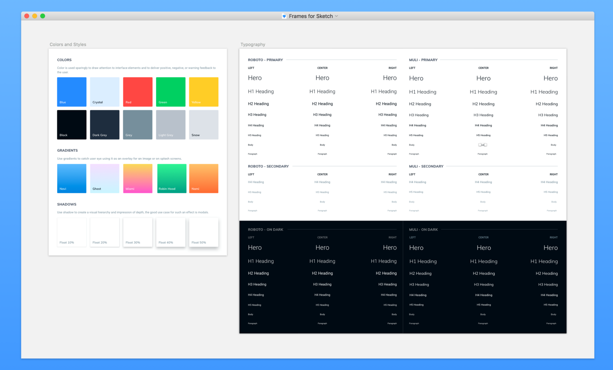 Setting Up a Design System