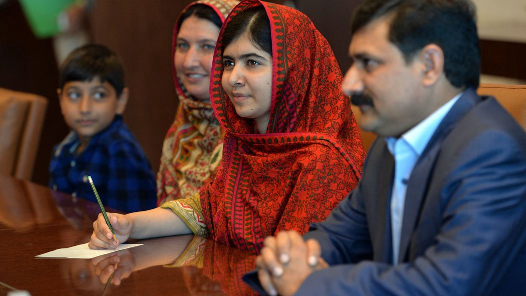 Malala Joins Twitter on Her Final Day of High School