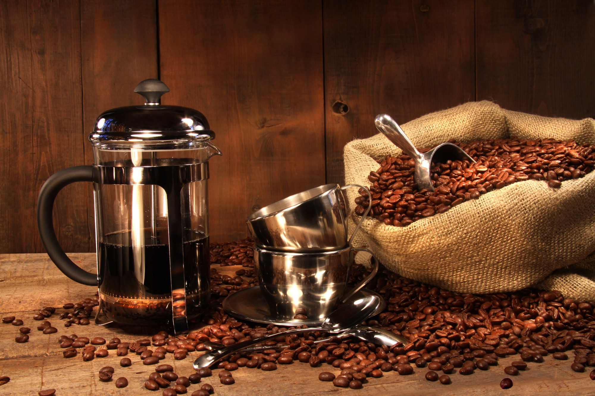 how to work a french press