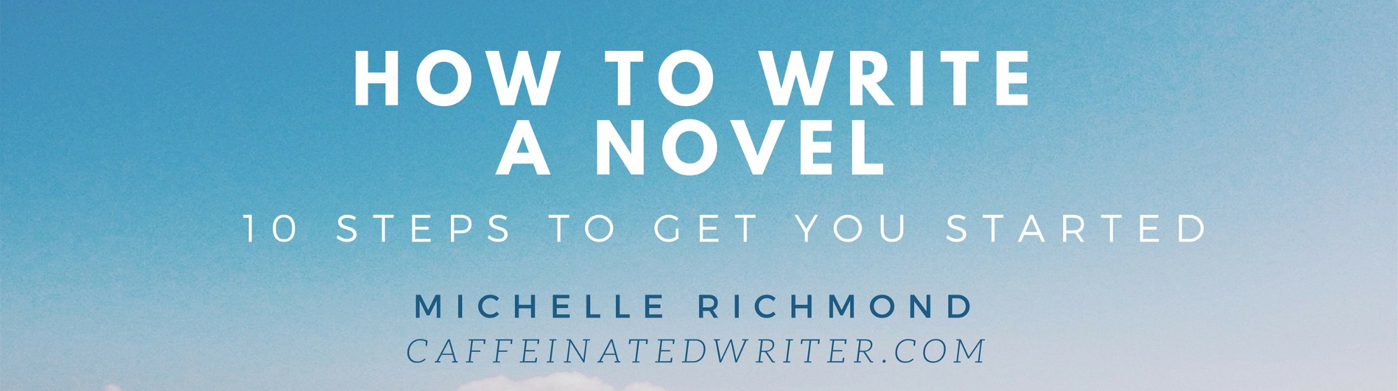 How to write a novel 51