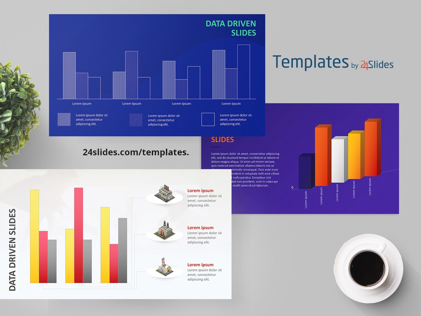 Data Driven Powerpoint Presentation Template Free Download