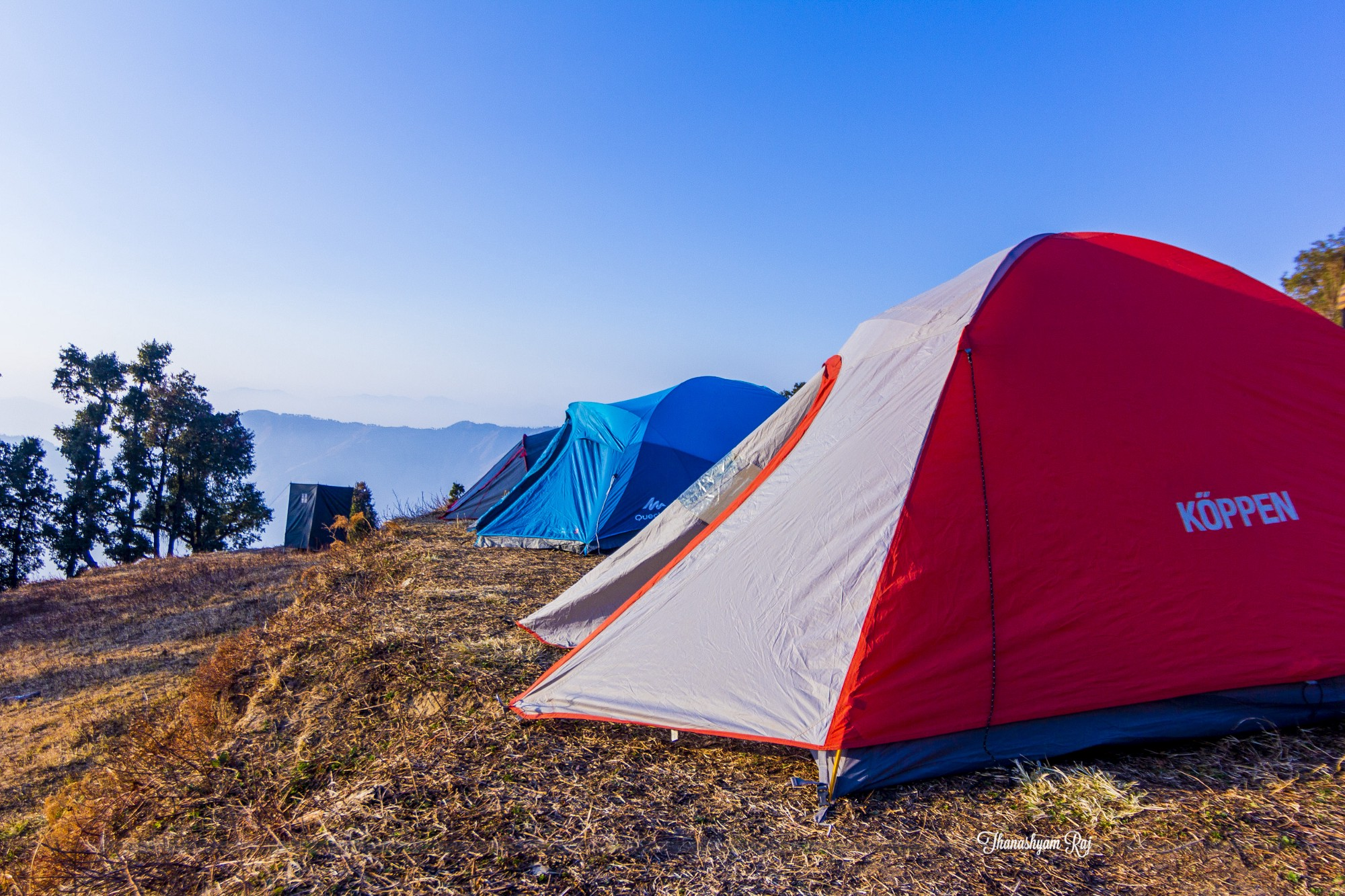 And that one day when you find it the most difficult to control is when the toilet tents are pitched farthest from your tent. & Toughest thing to do on a Winter trek and how to go about it