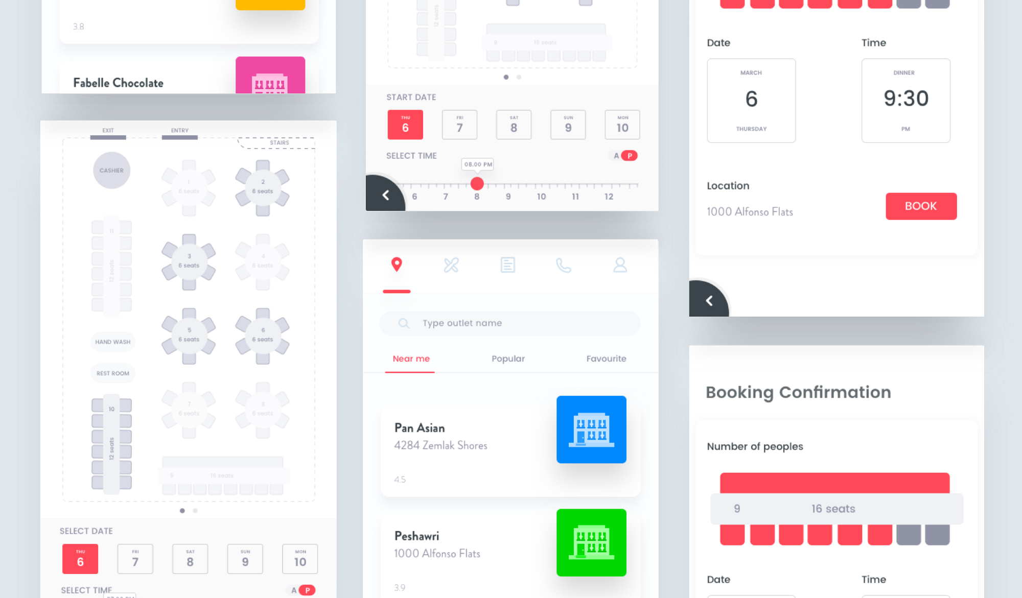How to Find Rich and Meaningful UI Design Inspiration Travel Buddy Case Study on Behance