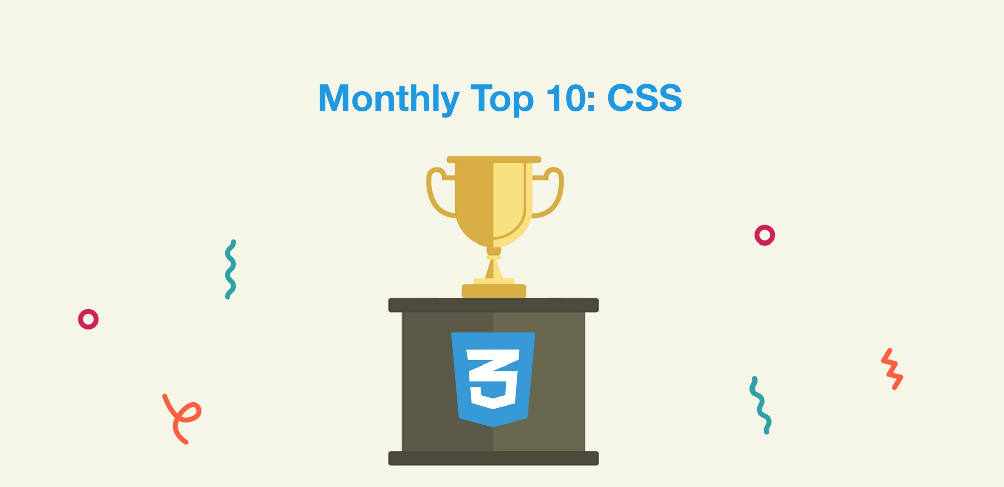 Top 10 Monthly Articles: CSS (v.April)