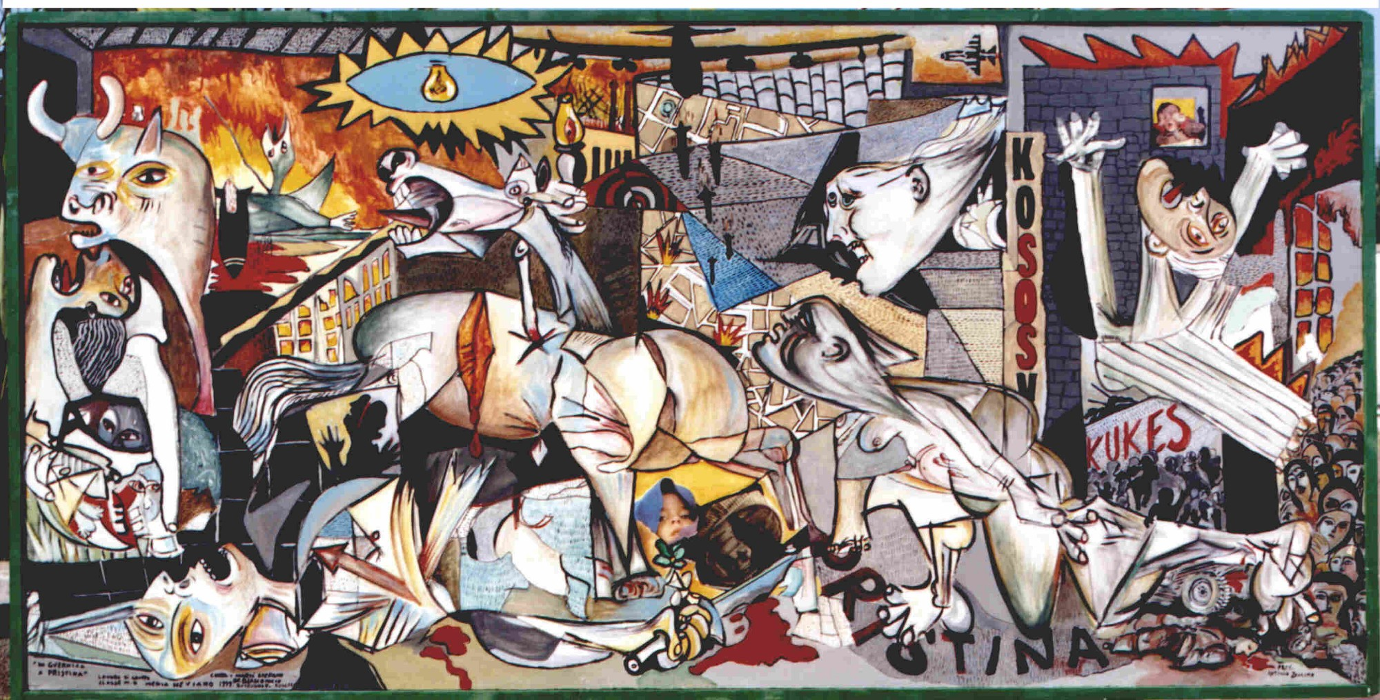 picasso analysis Critical analysis of guernica - by bryce craig spanish artist pablo picasso can often be collectively seen as the greatest and most influential artist of the twentieth century.
