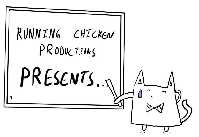 A Running Chicken Presentation. Illustration by Author