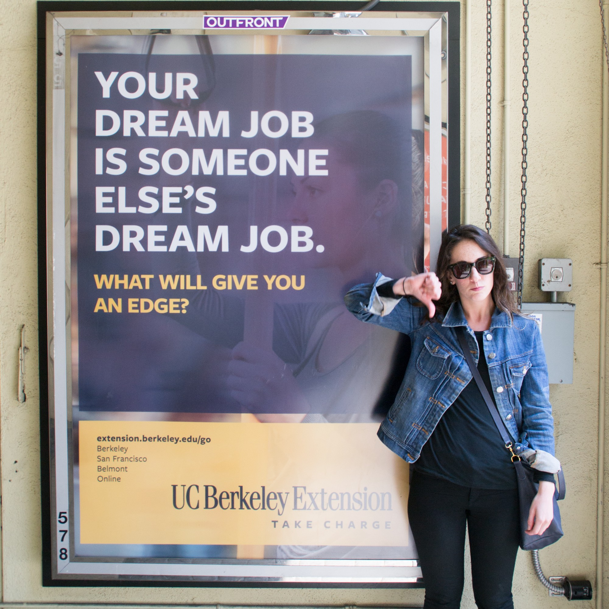 local w gives thumps down to uc berkeley s someone else has local w gives thumps down to uc berkeley s someone else has your dream job advertisement because you make your own dream job