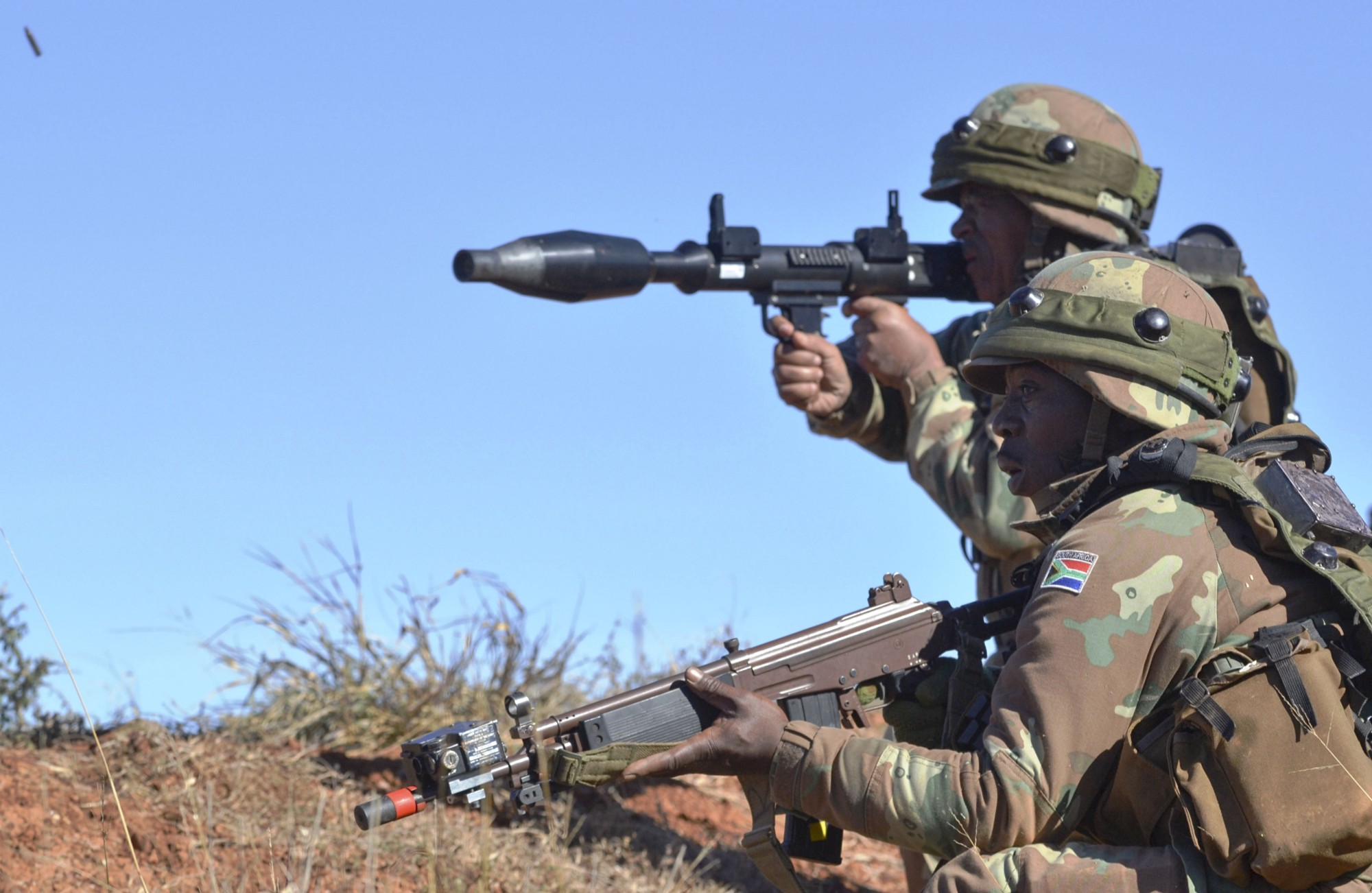 South Africa Wants To Resuscitate Its Arms Industry-9762