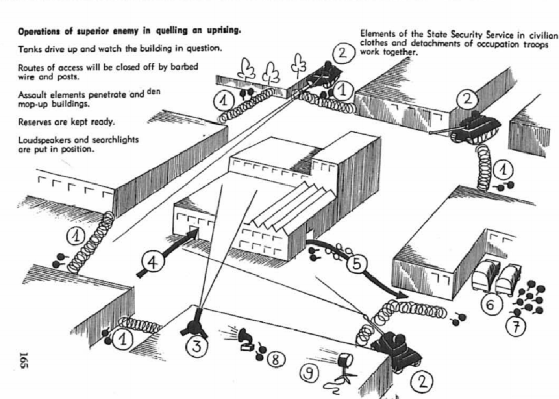 The Swiss Manual on Guerrilla Warfare Advises Hiding in Atomic Ruins