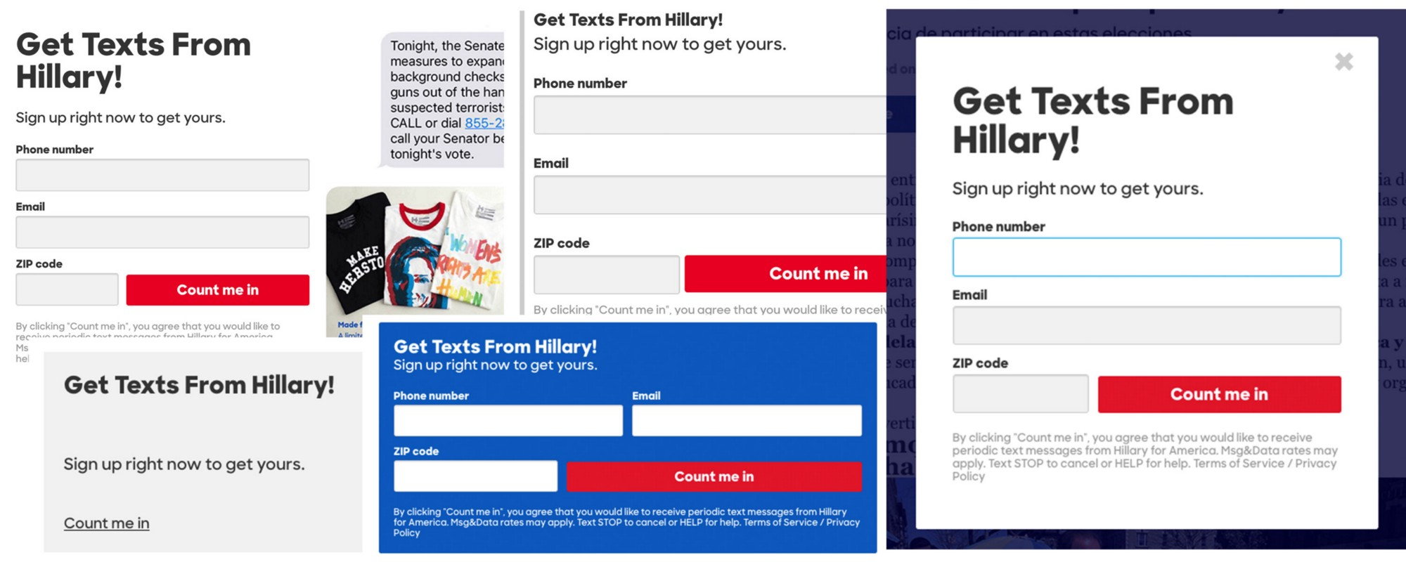 Pantsuit: The Hillary Clinton UI pattern library.
