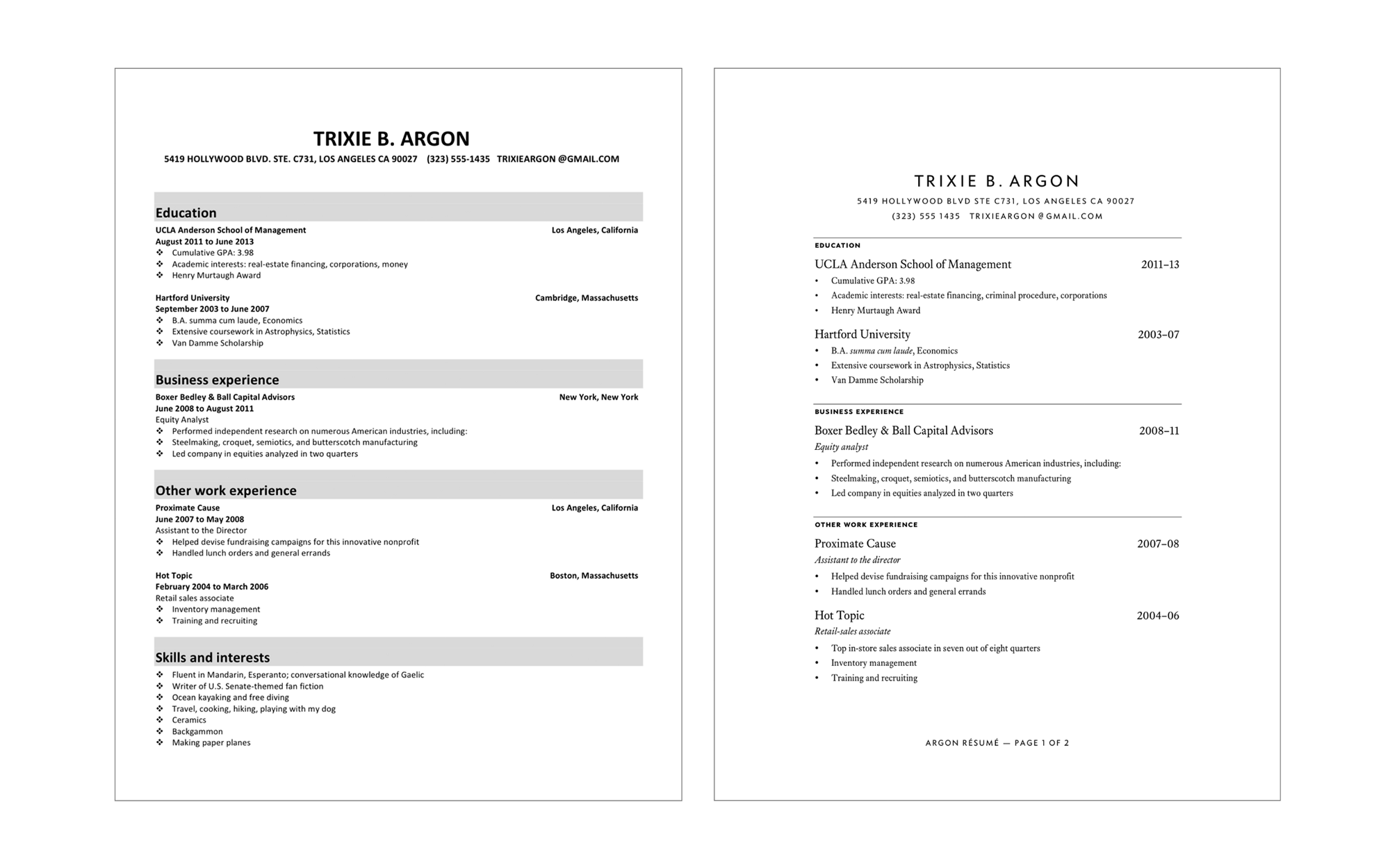 The Perfect Resume – Ryan Joseph Hill – Medium