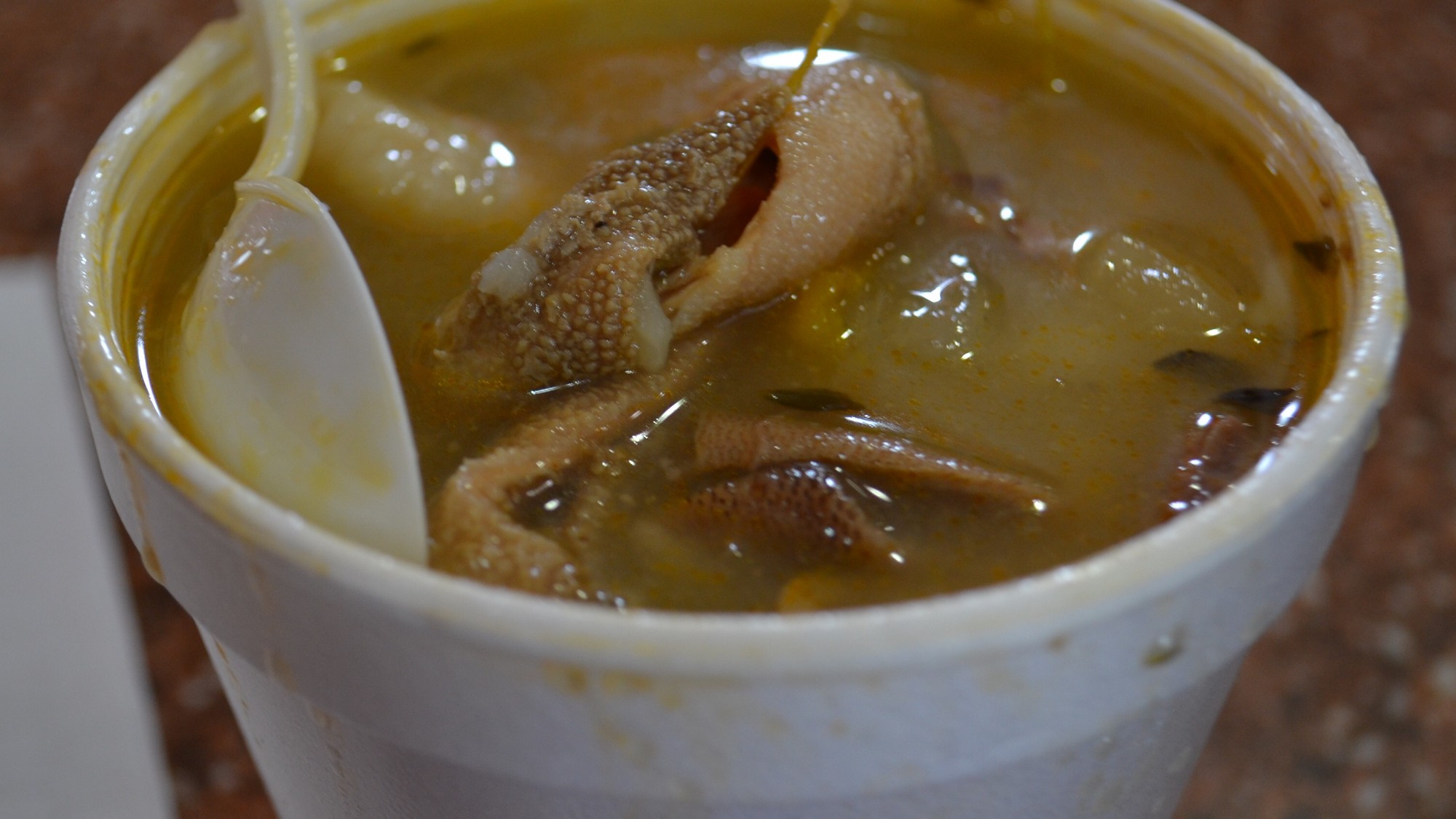 Jamaican Food Stories The Perfect Jamaican Soup Zyane Hennessy