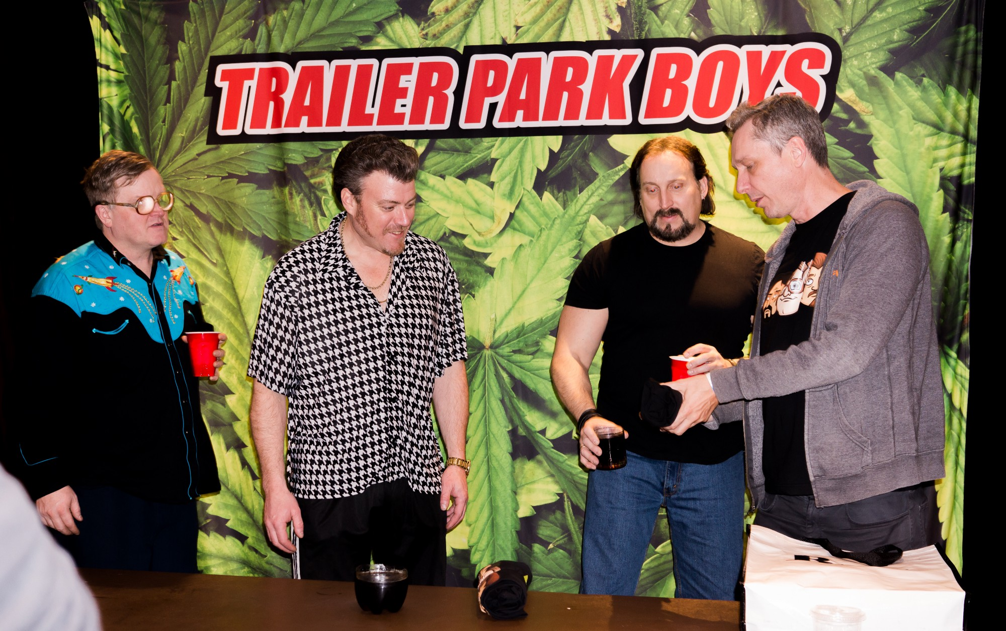 A fked up evening with the trailer park boys east side games when the show concluded we were lucky enough to go backstage and meet the boys in the flesh it was a definite upgrade from our cartoon cardboard cutouts kristyandbryce Gallery