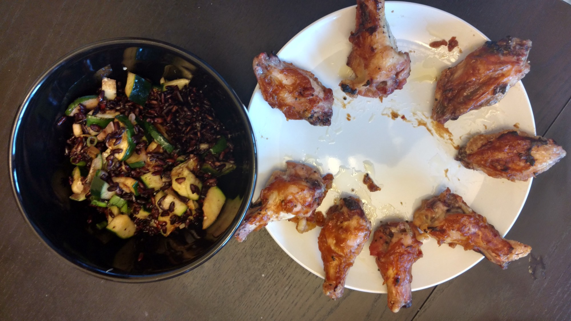Blue apron zucchini