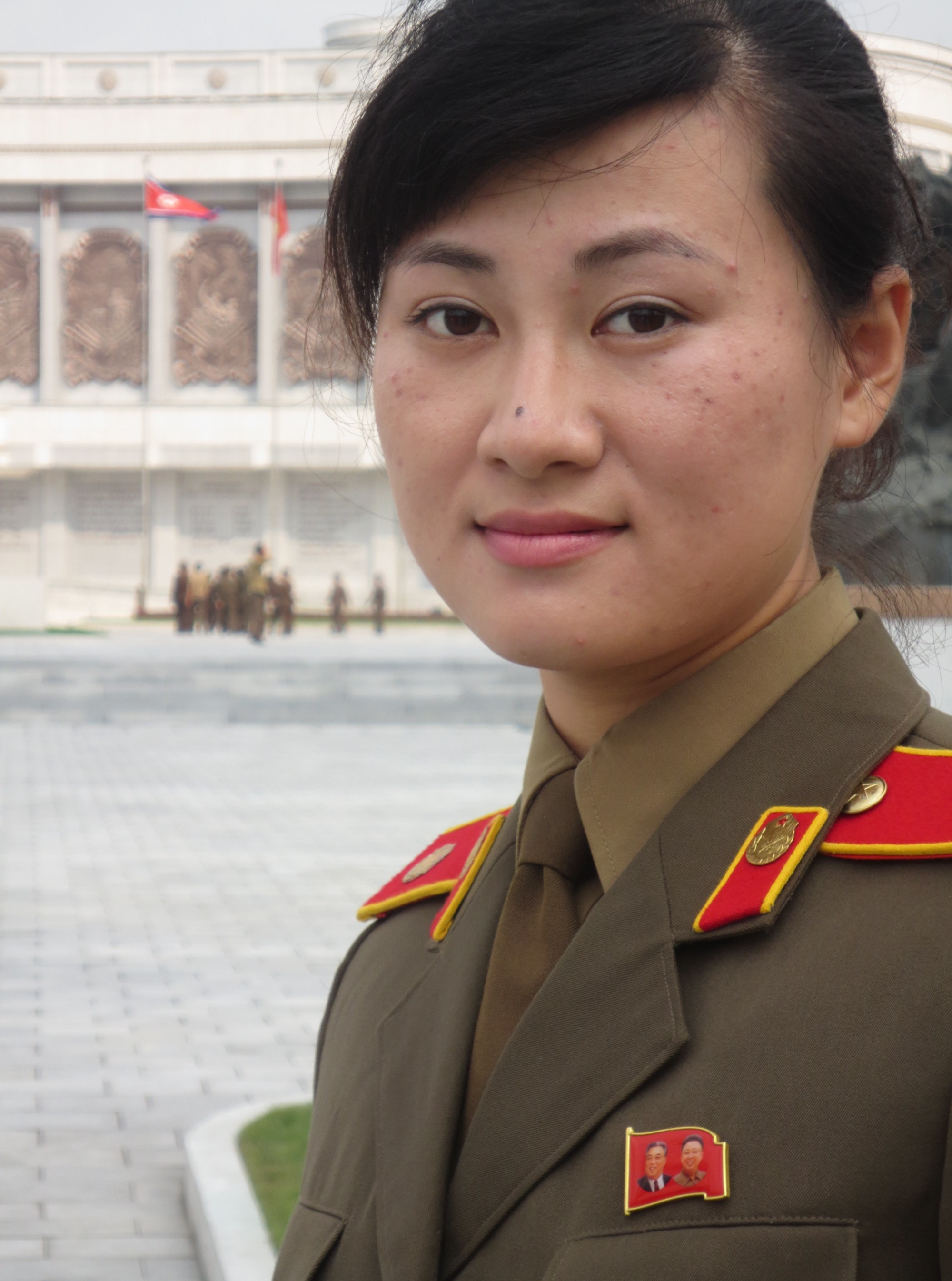 Our Guide At The War Museum In Pyongyang Her Knowledge Of Fake History Was  Encyclopedic
