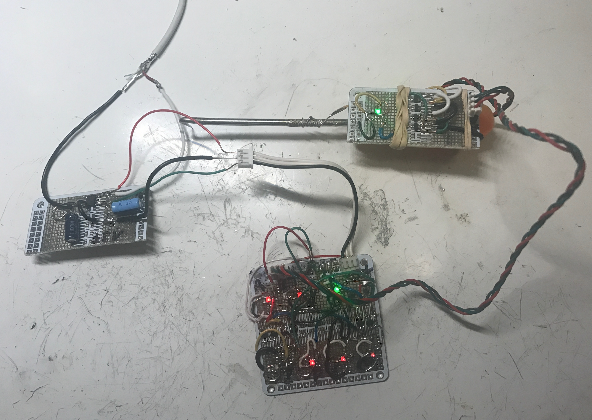 Voltage Regulators Revisted Lm317m 7812 Mcp170x Mic5219 And Icl7660 Usb Battery Replacement By Lm317 It Is Able To Successfully Power Both Circuits From Exploring Ternary Logic Tnand Tand Gates Probe