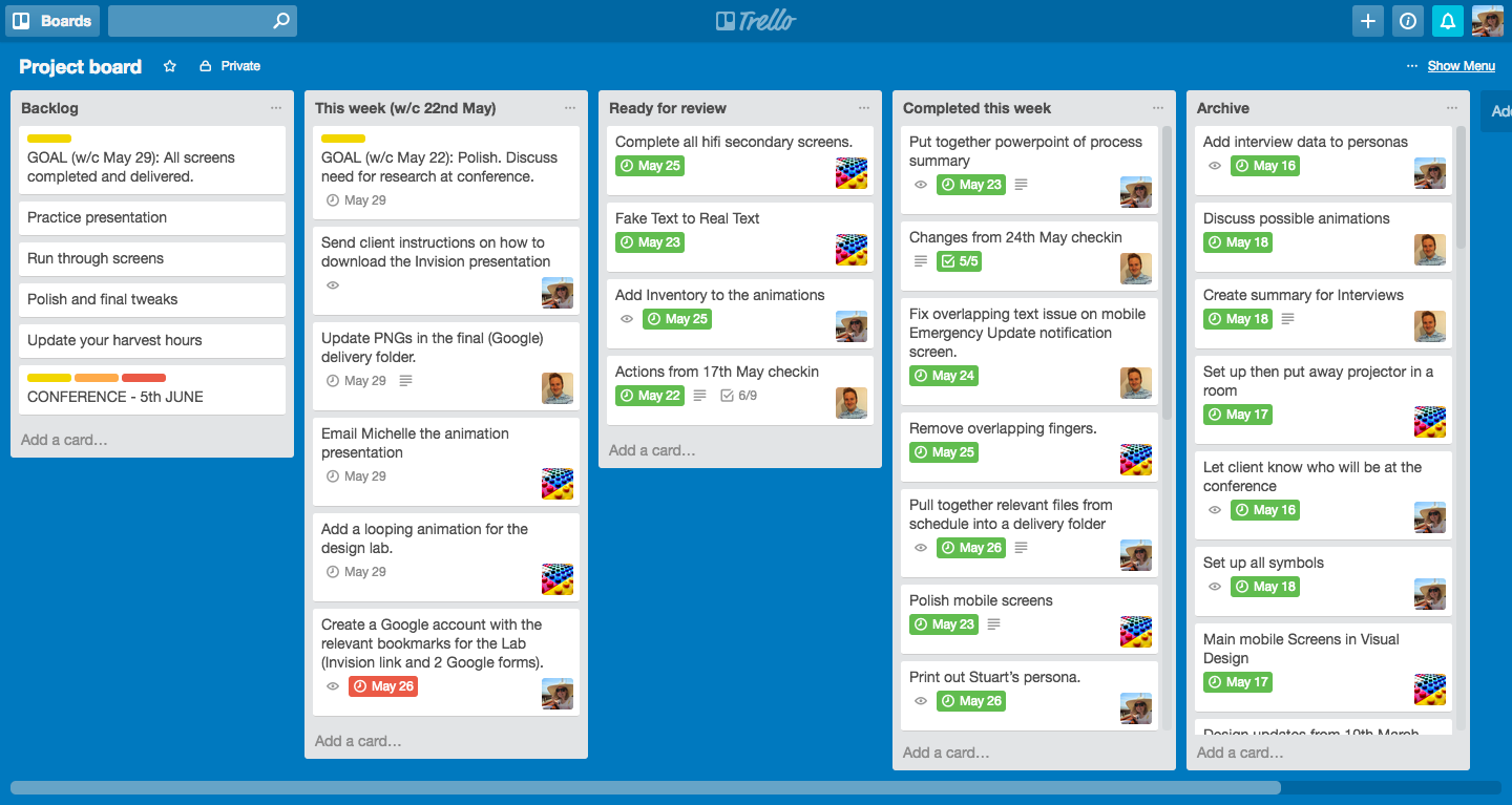 Ways To Use Trello For Product Management Tradecraft Medium - Qa roadmap template