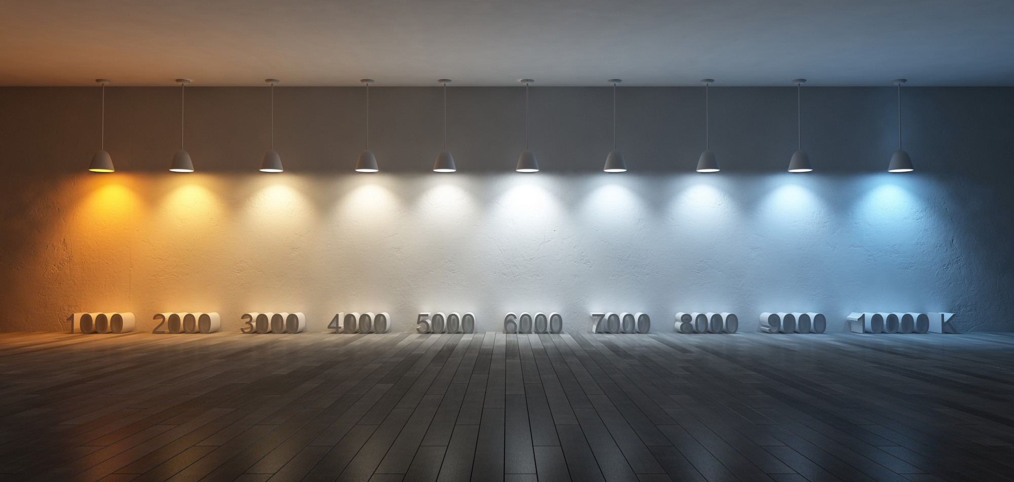 An Ilration Of Cct Values In Degrees Kelvin Most Indoor Lighting Products Produce Light The Range 1800 K To 6500