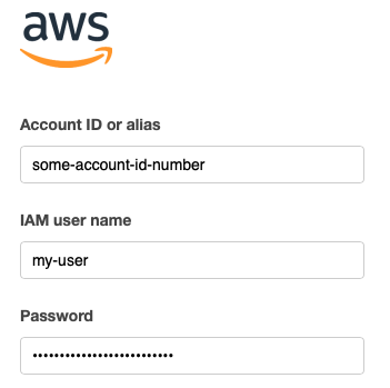 Login to AWS