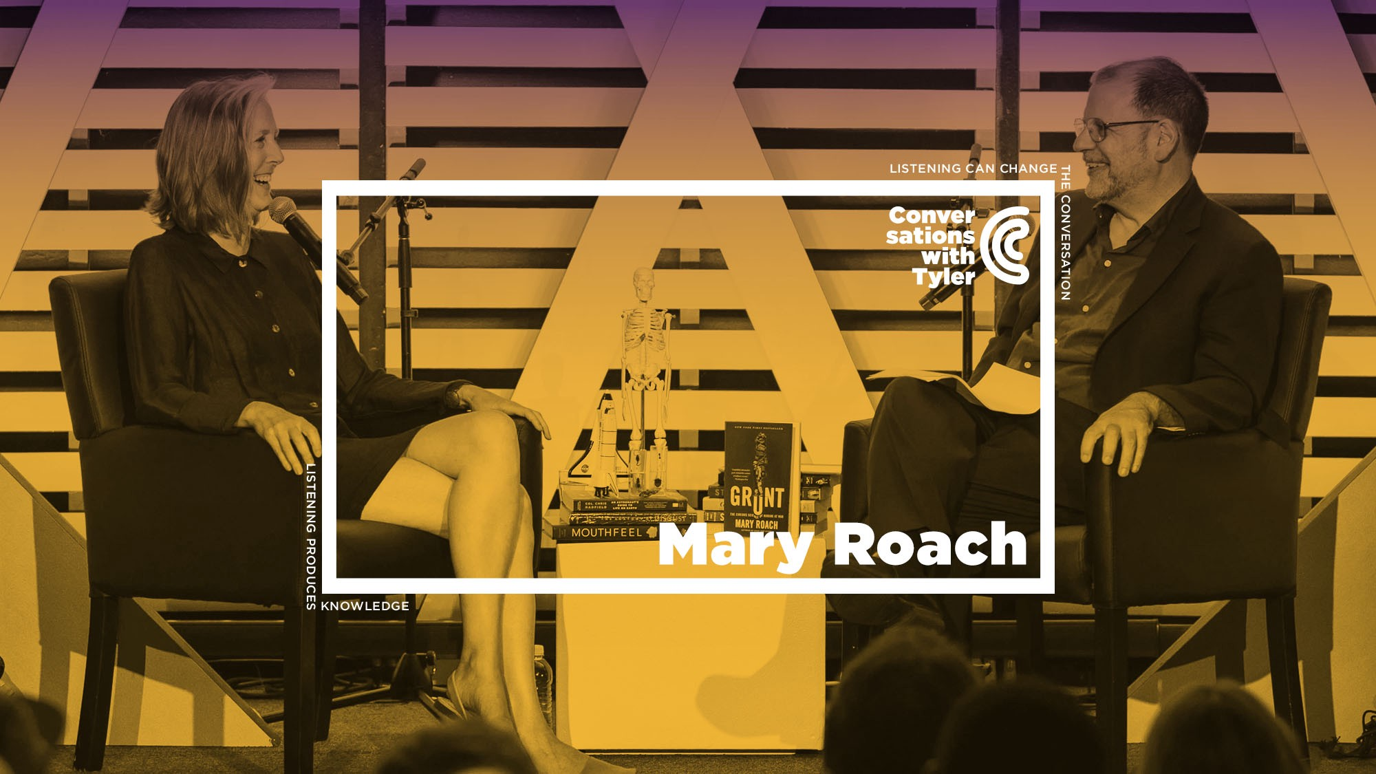 Mary Roach on Disgust, Death, and Danger (Ep. 29 — Live at Mason)