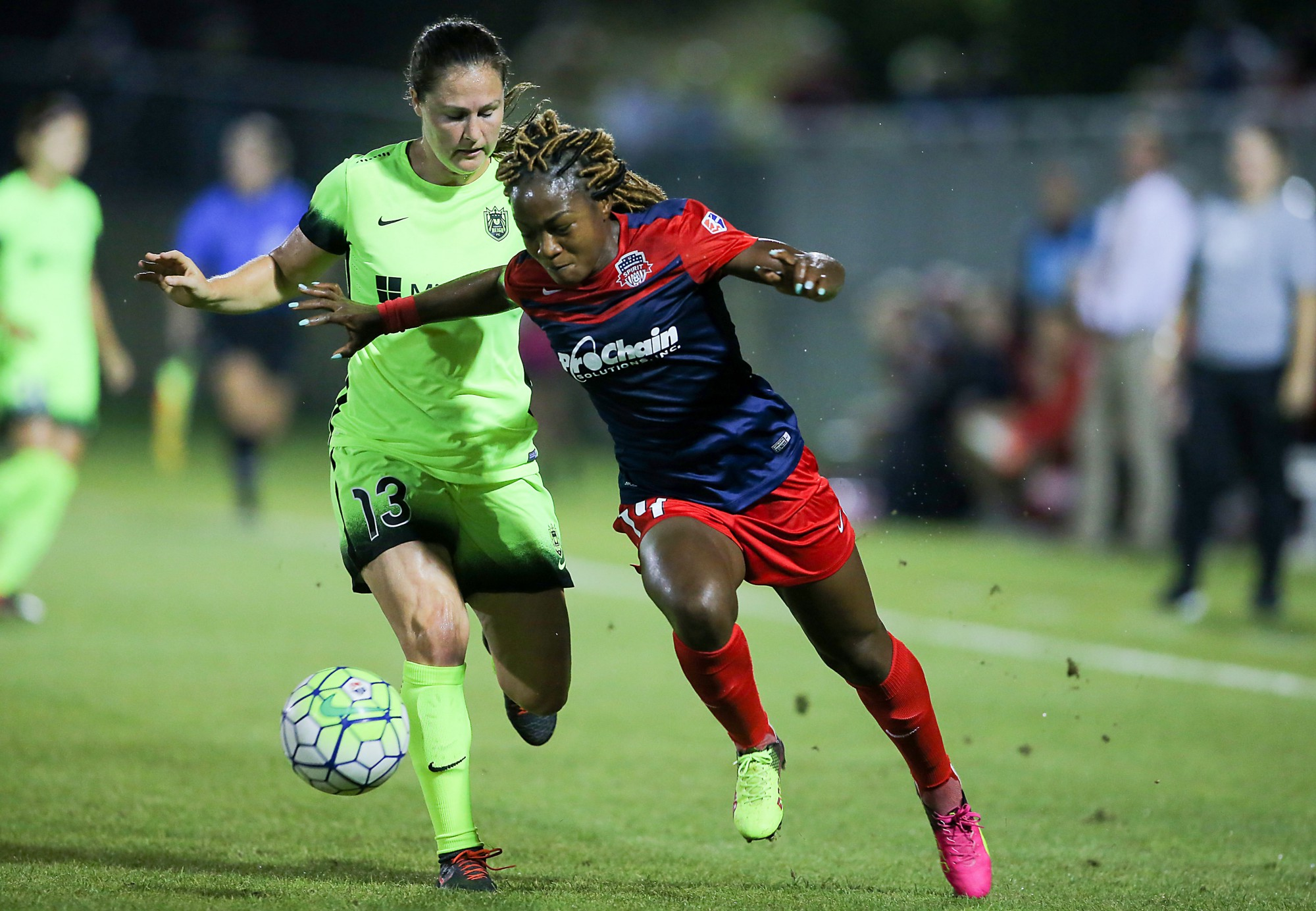 photo essay seattle reign fc washington spirit  photos courtesy of tony quinn isi photos