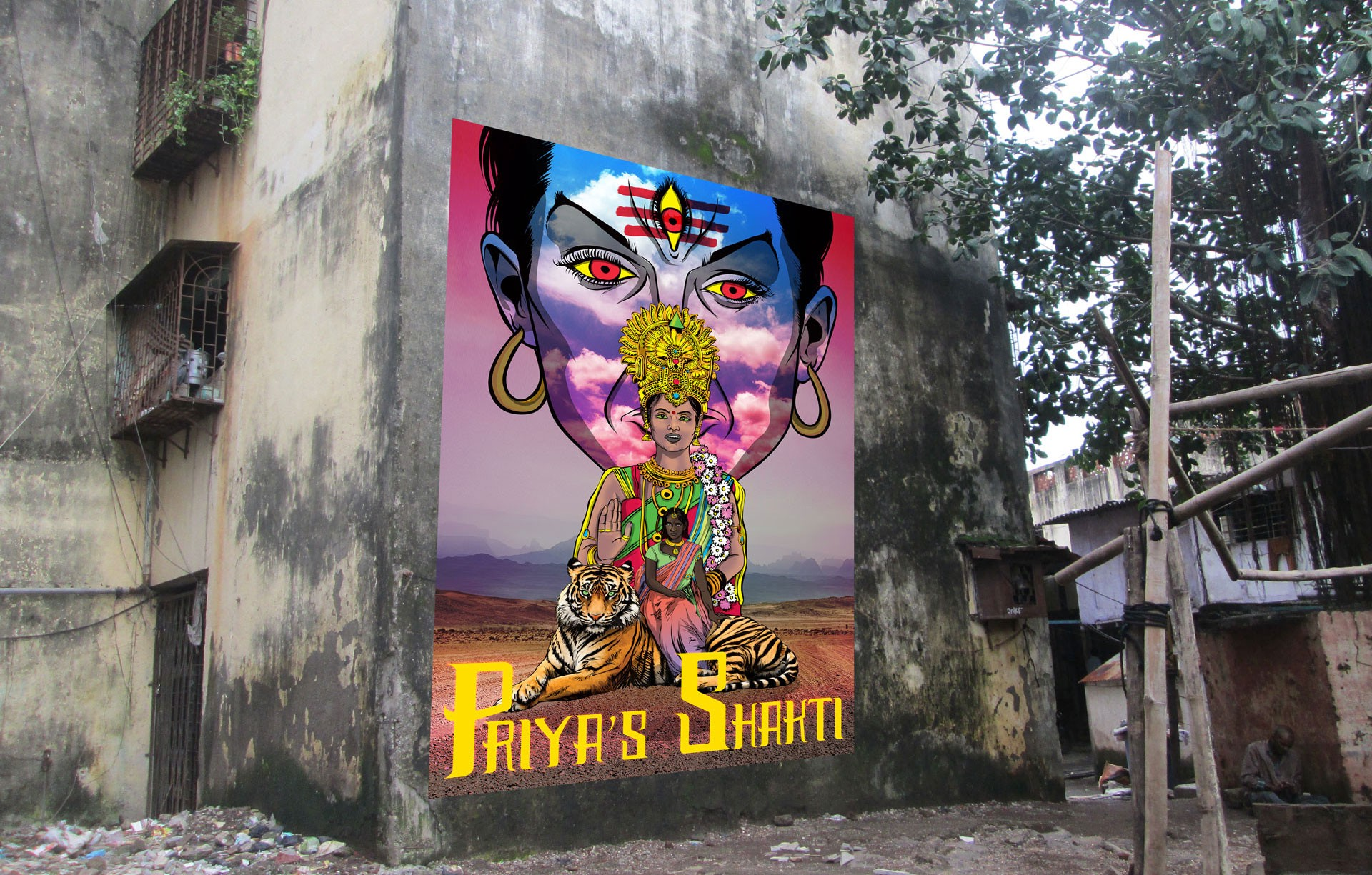 ANIMATED Street ART in MUMBAI, India. – Rattapallax – Medium