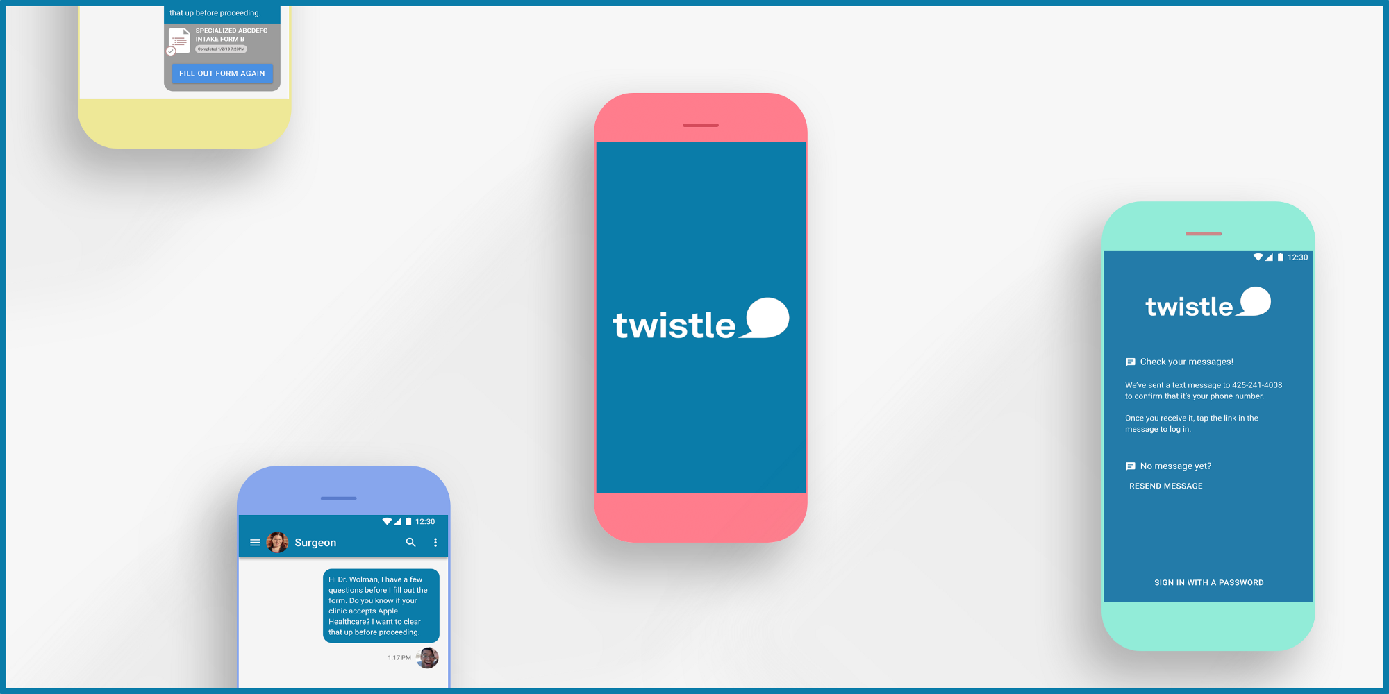 Redesigning Twistle– a health communications platform