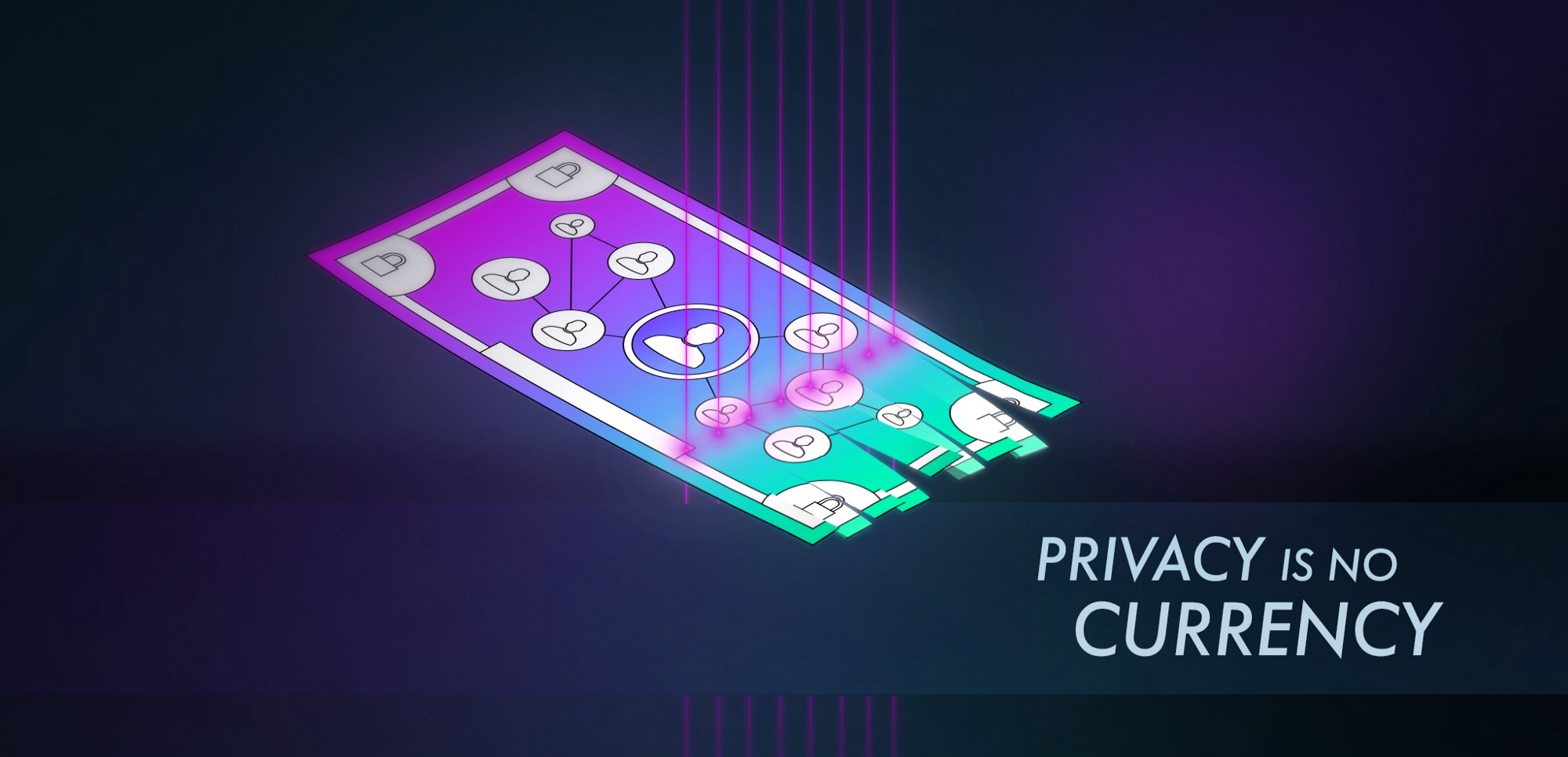 privacy is not a currency iota