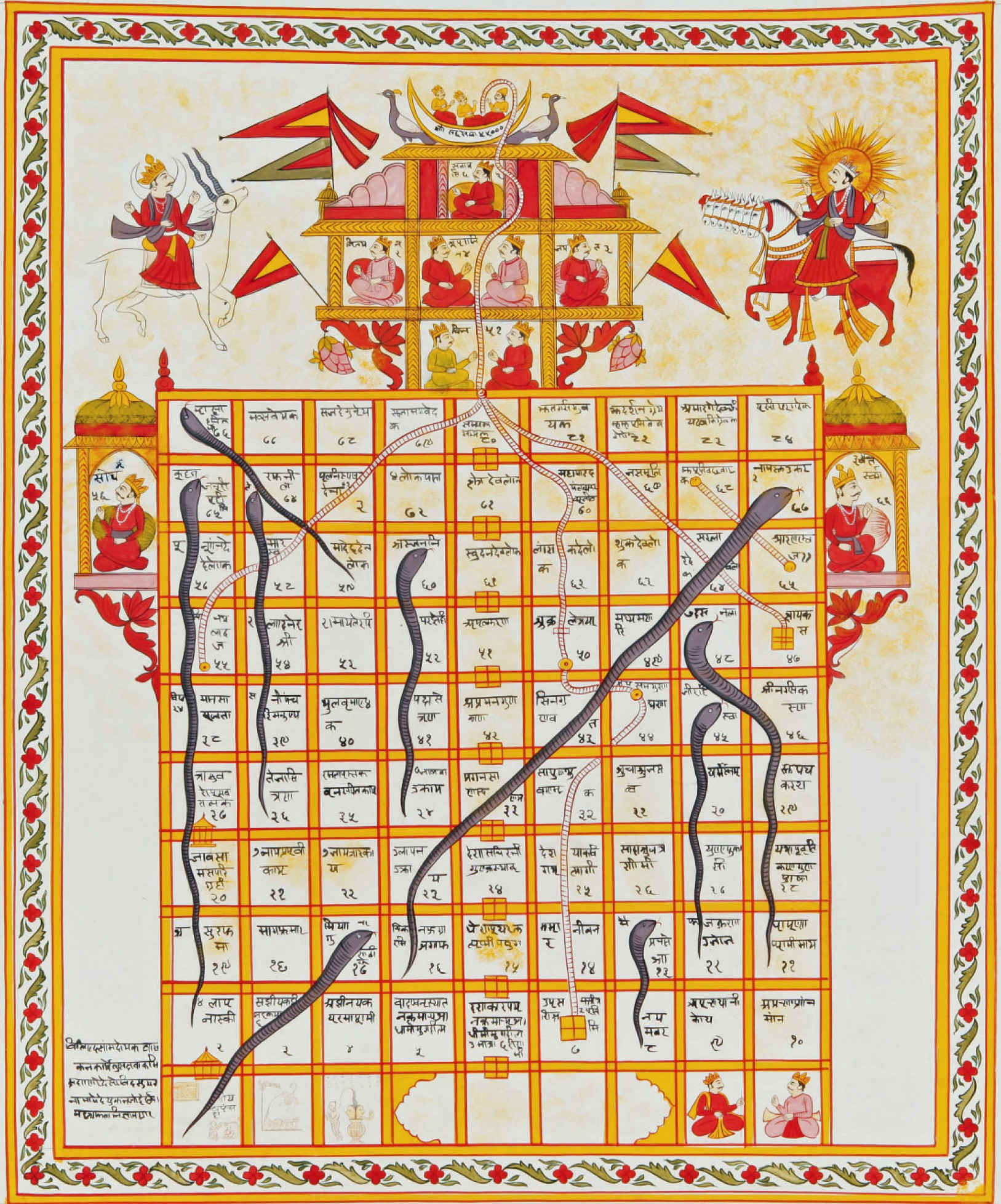 Snakes Is The Direction Game Like Wormies The Lines Are: The Timelessness Of Snakes And Ladders