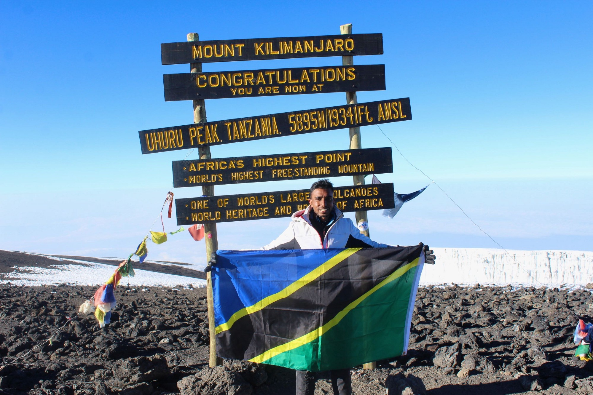 Visa requirements for tanzanian citizens benjamin fernandes medium it was tough it was worth every second roof of africa mount kilimanjaro tanzania july 2015 freerunsca Images
