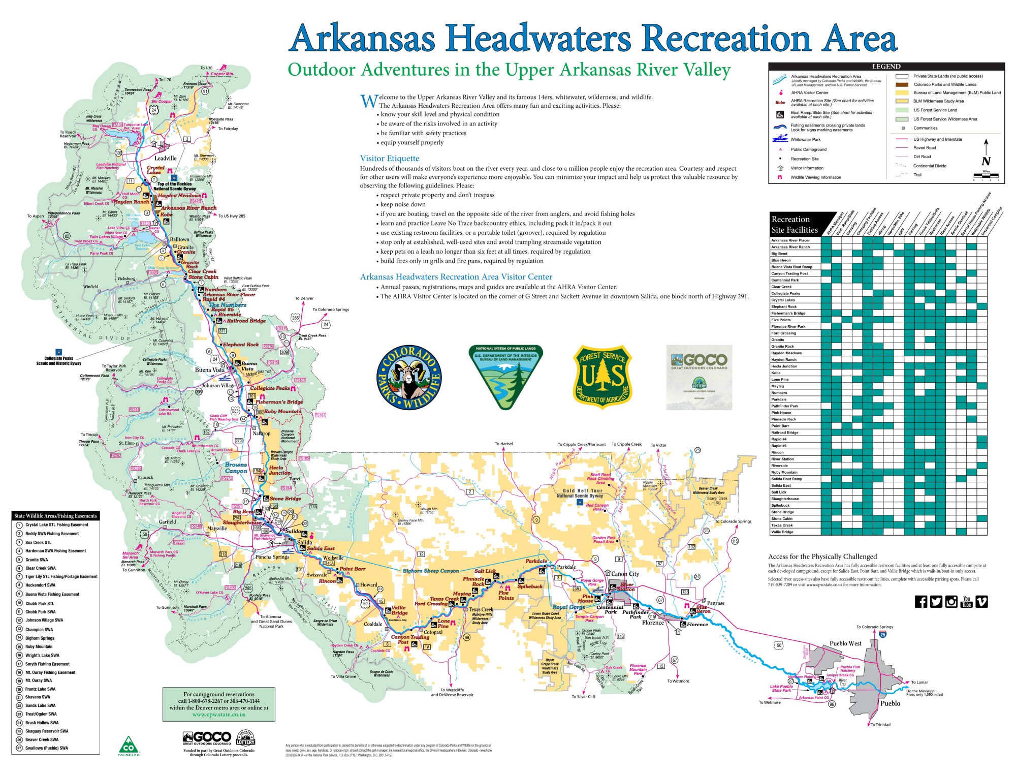 Arkansas Headwaters Recreation Area | BUREAU OF LAND MANAGEMENT