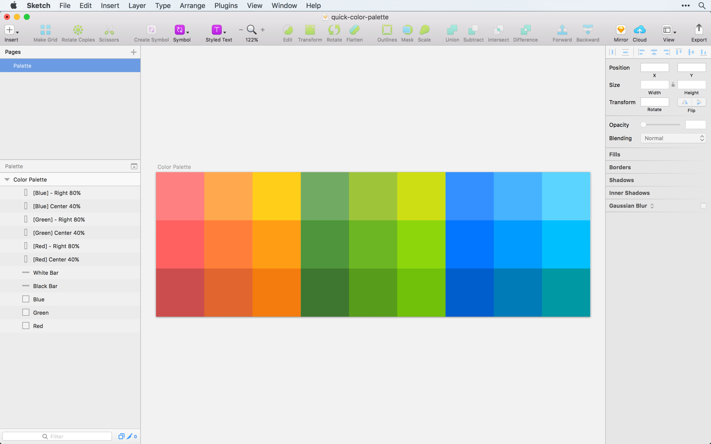 A Simple Trick For Creating Color Palettes Quickly – Sketch Tricks ...
