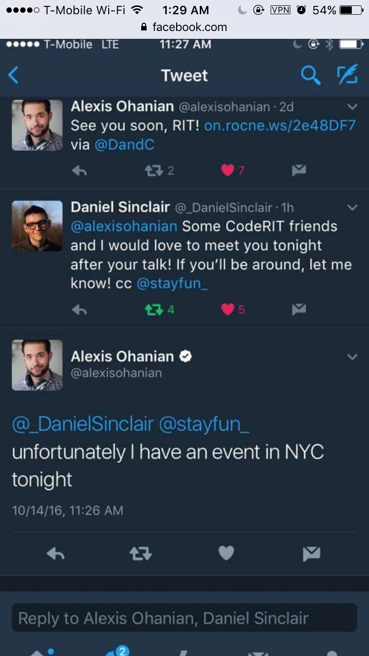 RIP our dreams but thanks Alexis for the reply!