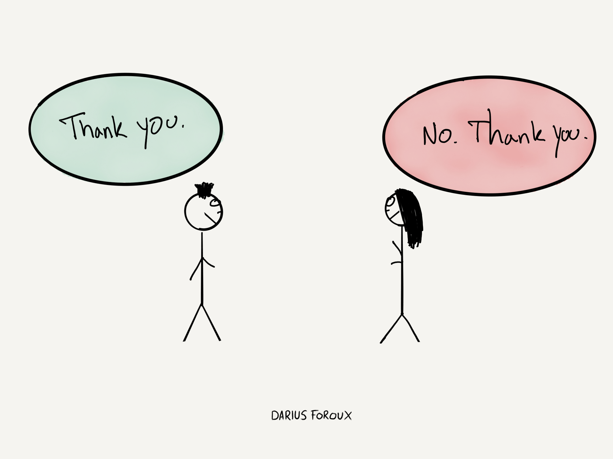 how two words can change your life the blog of darius foroux medium