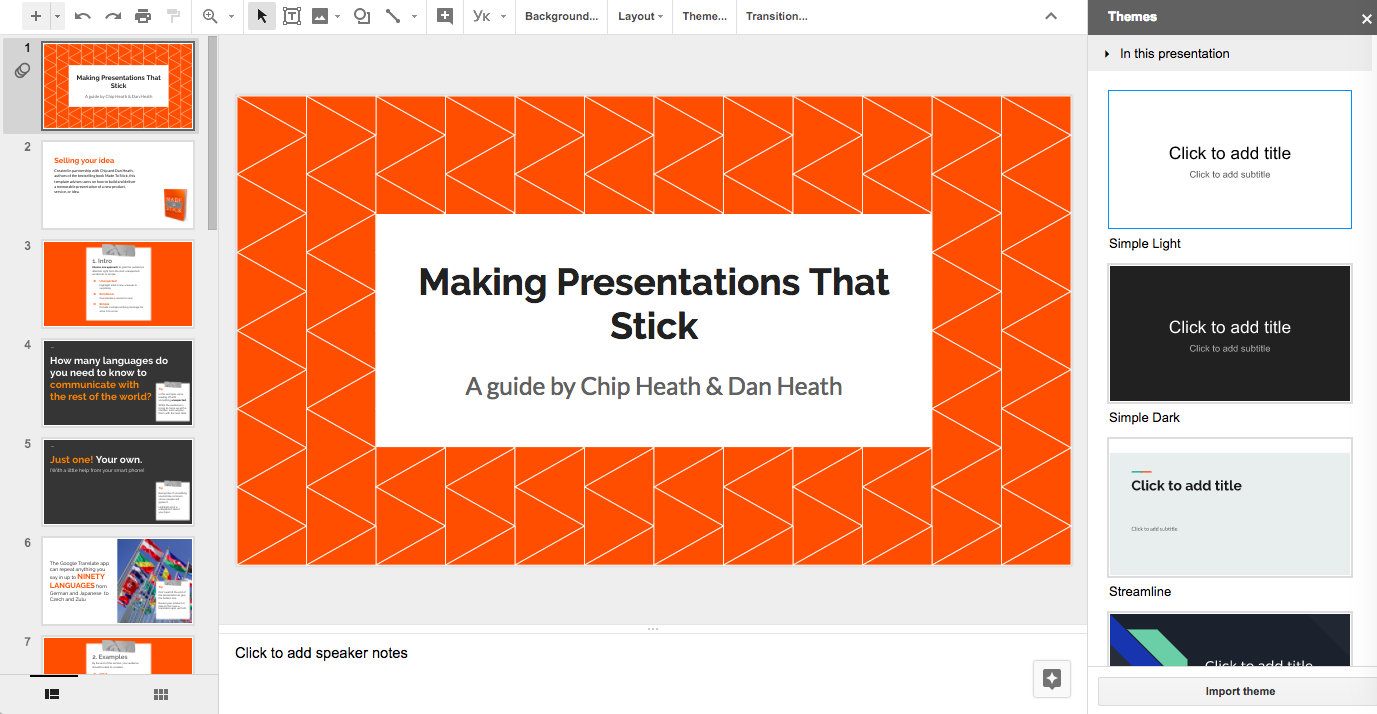 No Ppt Please Five Services For Compiling A Wow Presentation Powerpoint Overview Diagram 360 Concept Photo Screenshot Of Your Big Idea Template Page In Google Slides
