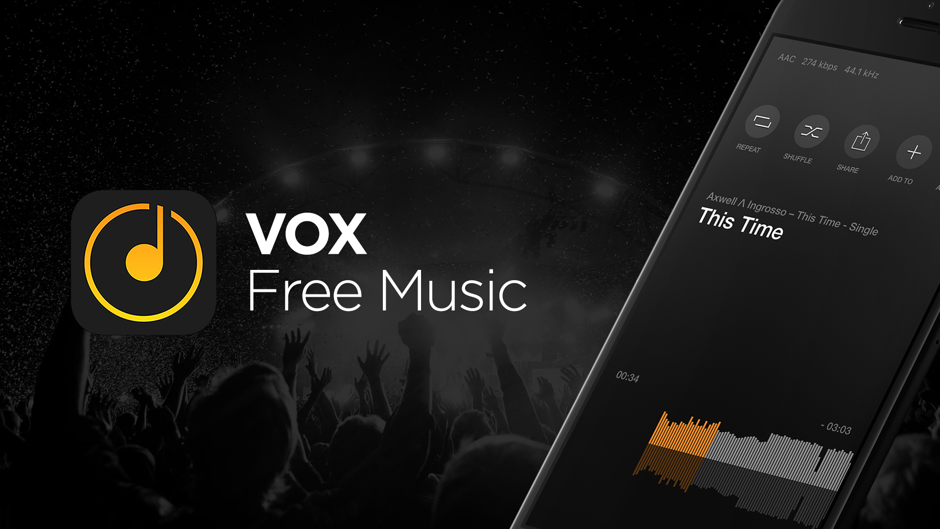 Vox Free Music Released Millions Songs For Free Vox Music Player