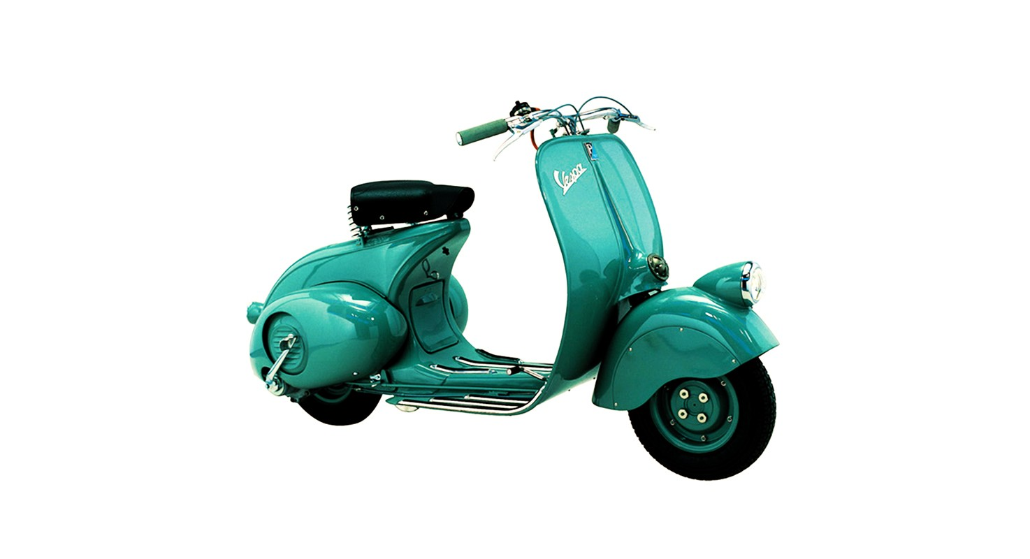 UX inspiration from history: Vespa Scooter