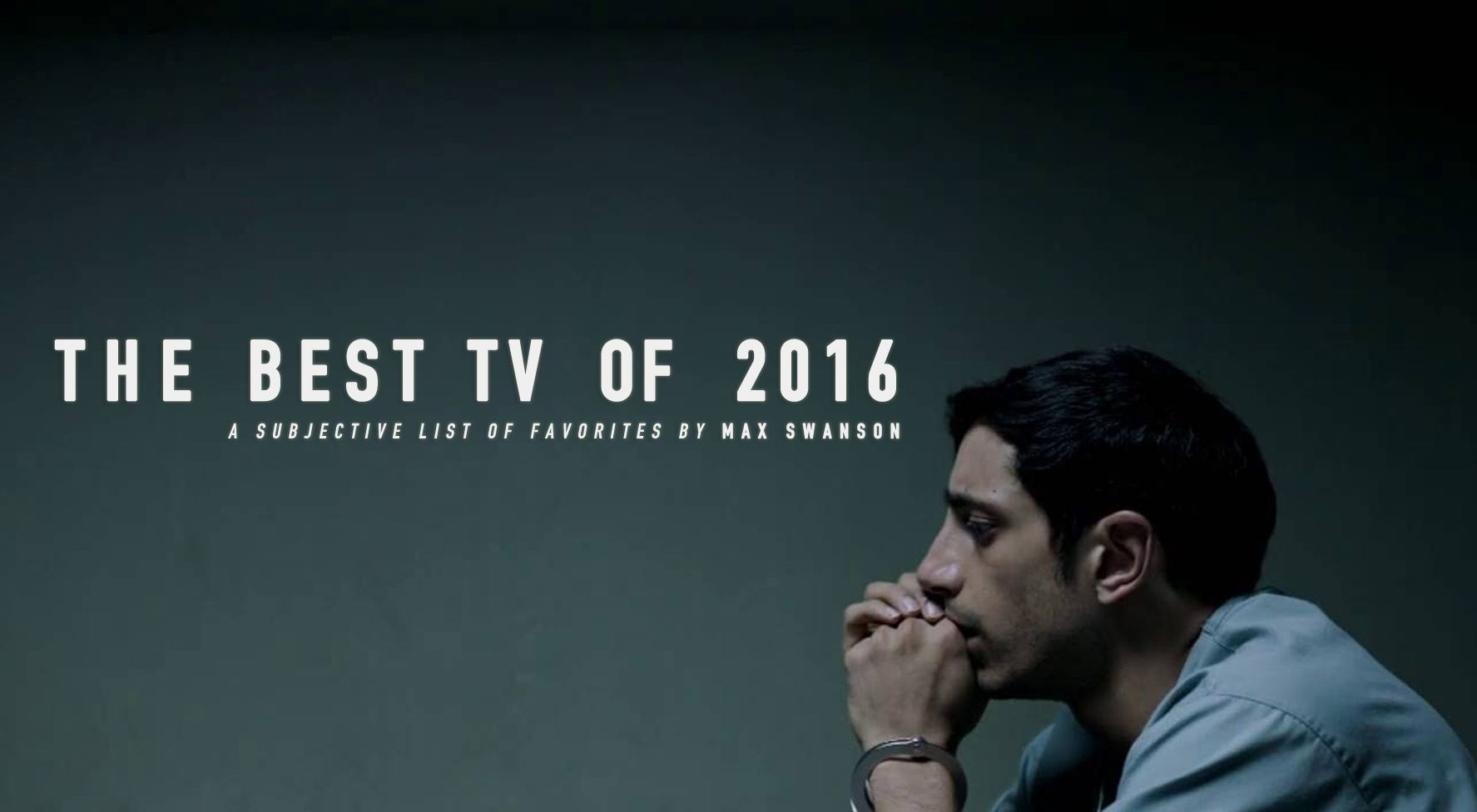 the best tv of 2016: a subjective list – max roux – medium